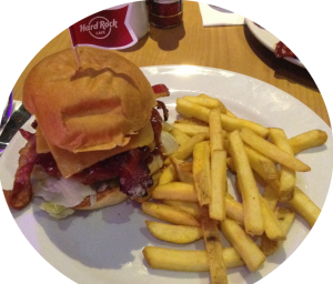 Hard Rock Cafe Johannesburg Legendary Burger SITC